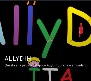 AllyDim: il videogioco che sto scrivendo con mio figlio