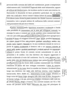 Una pagina di un EPUB annotata a mano