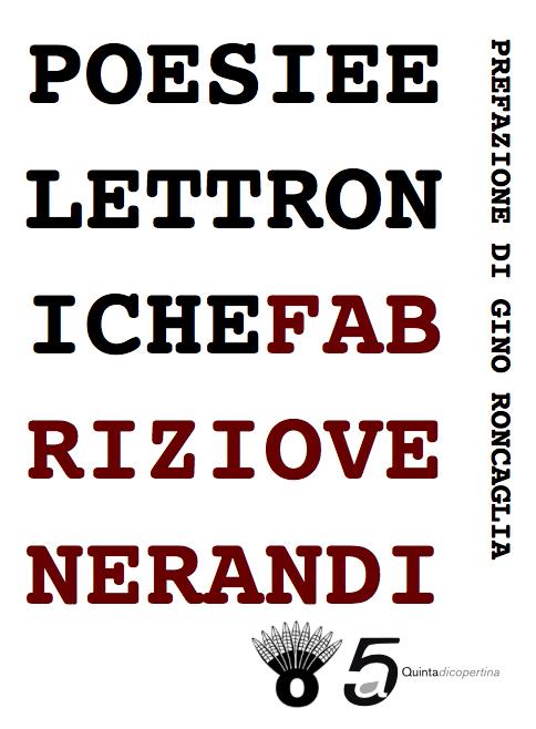 copertina di poesie elettroniche
